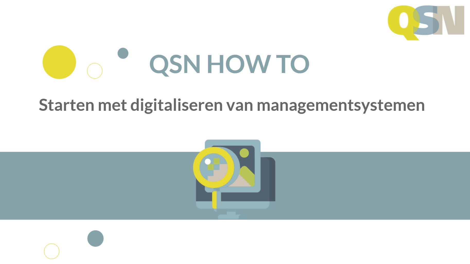 How to digitalisering managementsystemen
